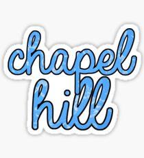 Chapel Hill Tie Dye Sticker