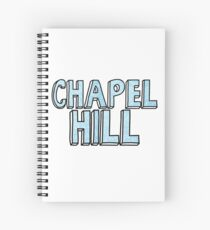 Chapel Hill Flowers Spiral Notebook
