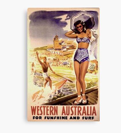 1950 Western Australia Canvas Print
