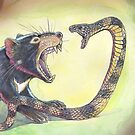 Devil V Tiger Snake by SnakeArtist
