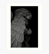 """Sleeping Angel"" (Christmas Card) Art Print"