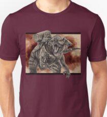 Cybernetic Hybrid Dinosaur Unisex T-Shirt