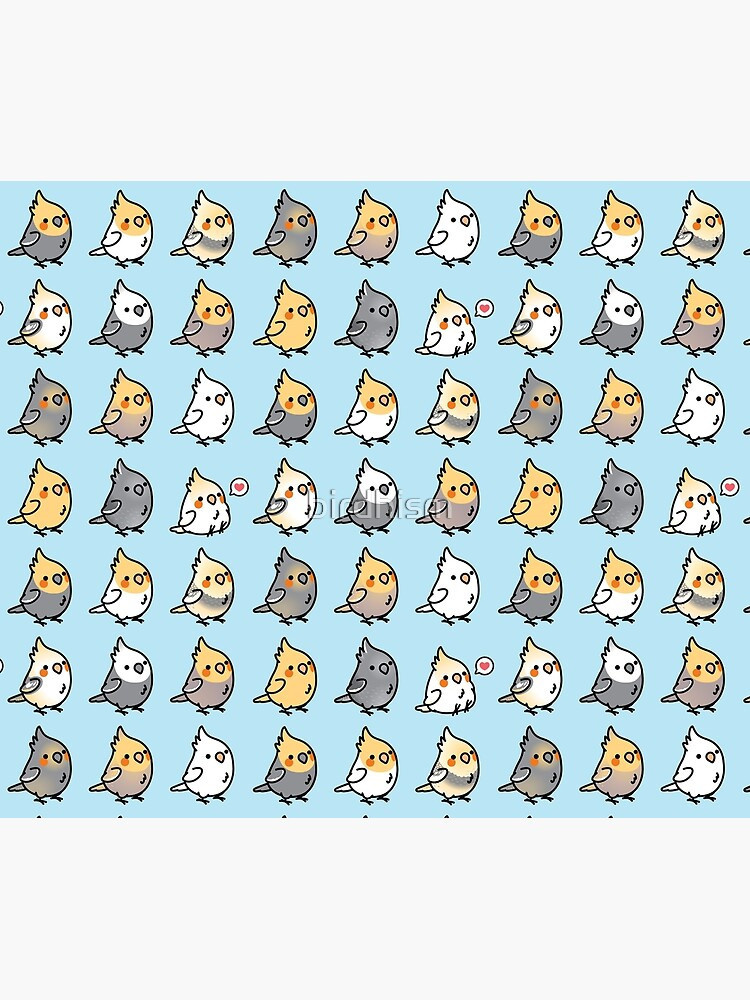 Chubby Cockatiel Collection by birdhism