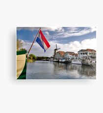 Willemstad Harbour Metal Print