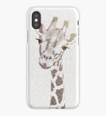 The Intellectual Giraffe iPhone Case/Skin