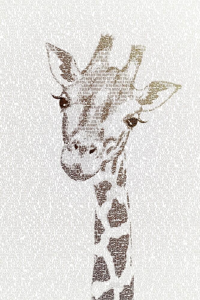 The Intellectual Giraffe by Paula Belle Flores
