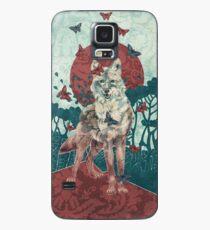 Lady Butterfly Hülle & Skin für Samsung Galaxy