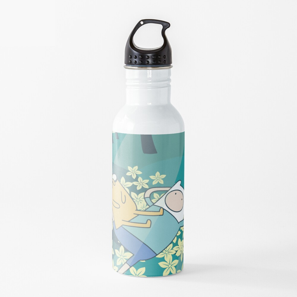 Field of Flowers (Adventure Time) Water Bottle