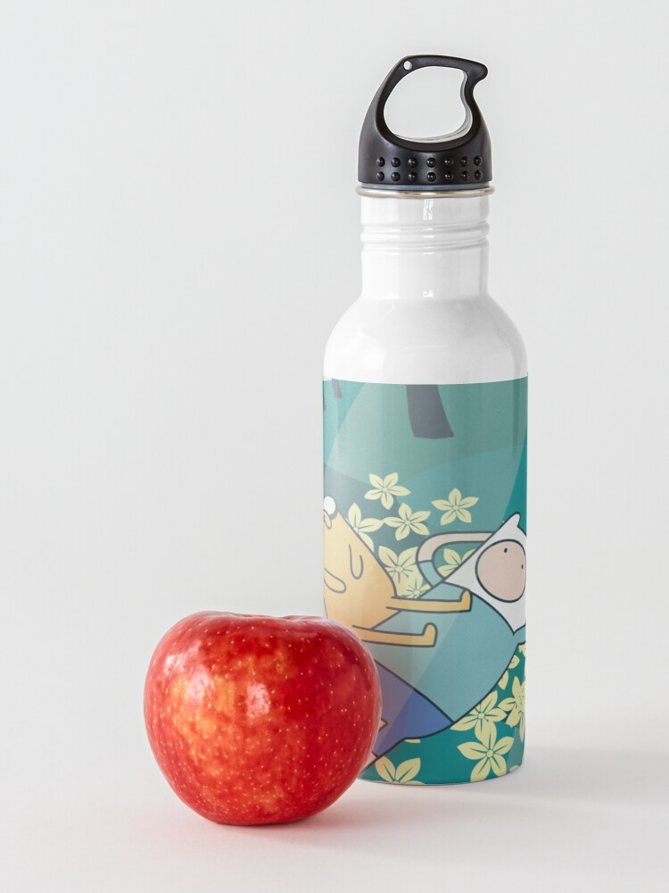 Alternate view of Field of Flowers (Adventure Time) Water Bottle