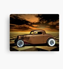 "1934 Ford ""Copper Tone"" Hot Rod Canvas Print"