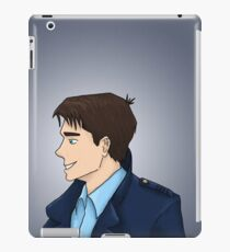 Captain Jack Harkness Profile iPad Case/Skin