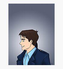 Captain Jack Harkness Profile Photographic Print