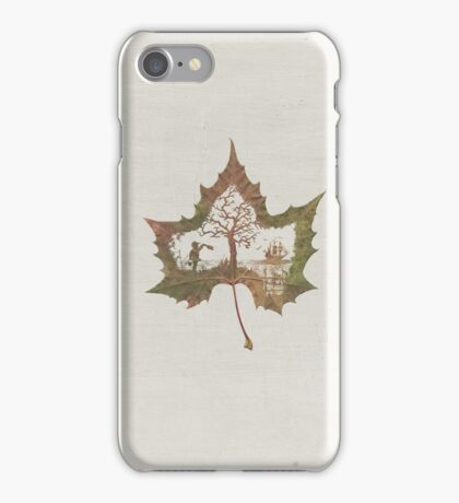 The Memories of a Leaf: Good Bye iPhone Case/Skin