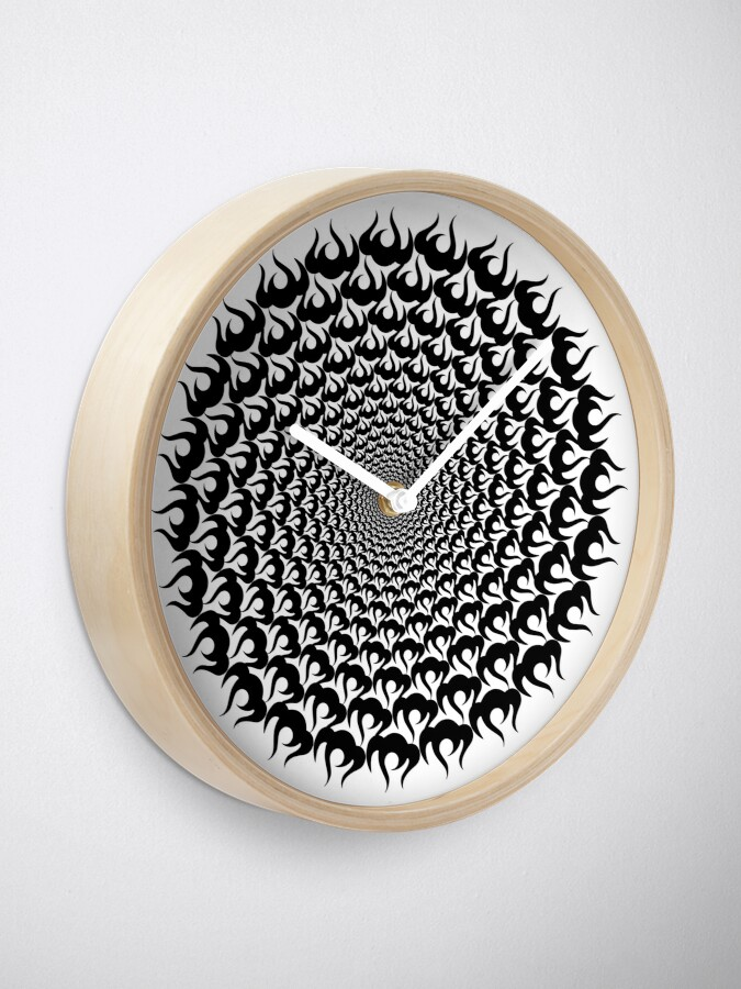 Alternate view of Stoic Fire Vortex - Strength - To Fight Off the Chaos V2 Clock
