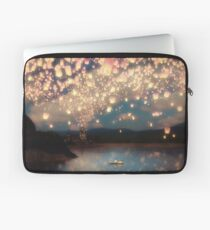 Wish Lanterns for Love Laptop Sleeve