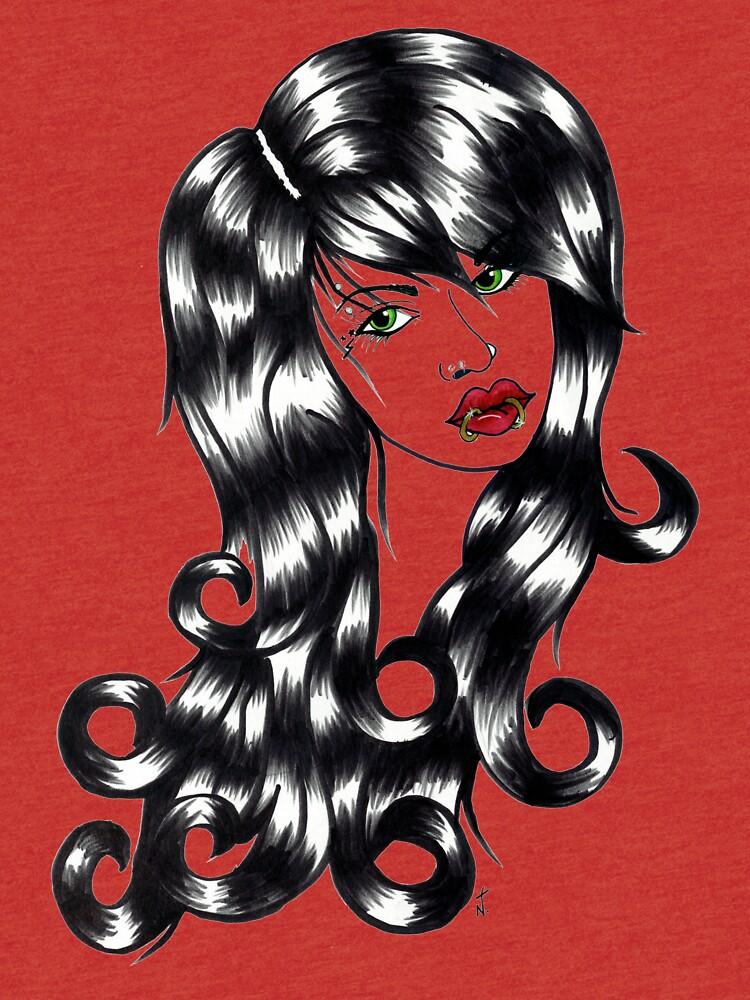 Blackwater girl - Lip rings by creaturesofnat