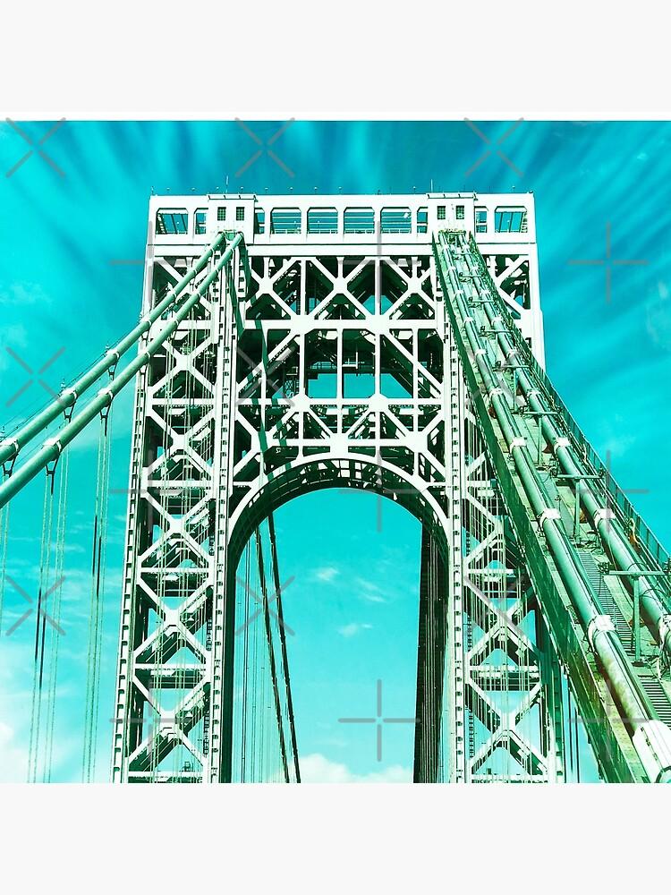 Gift for New Yorker - George Washington Bridge - New York City Lover by OneDayArt