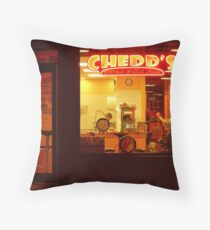 Closing Time at Chedds-Sioux Falls, SD Throw Pillow