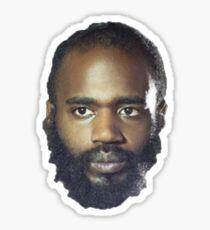 MC Ride's Head Sticker