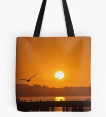 Sunset in Garibaldi Tote Bag