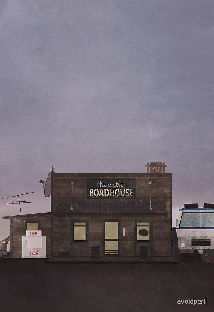 The Harvelle's Roadhouse Supernatural by avoidperil