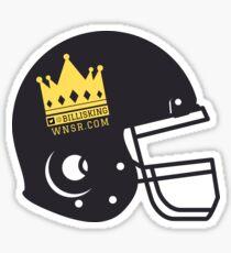 Bill King Helmet Logo Sticker
