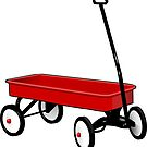 Little Red Wagon  by Leatherwood   Design