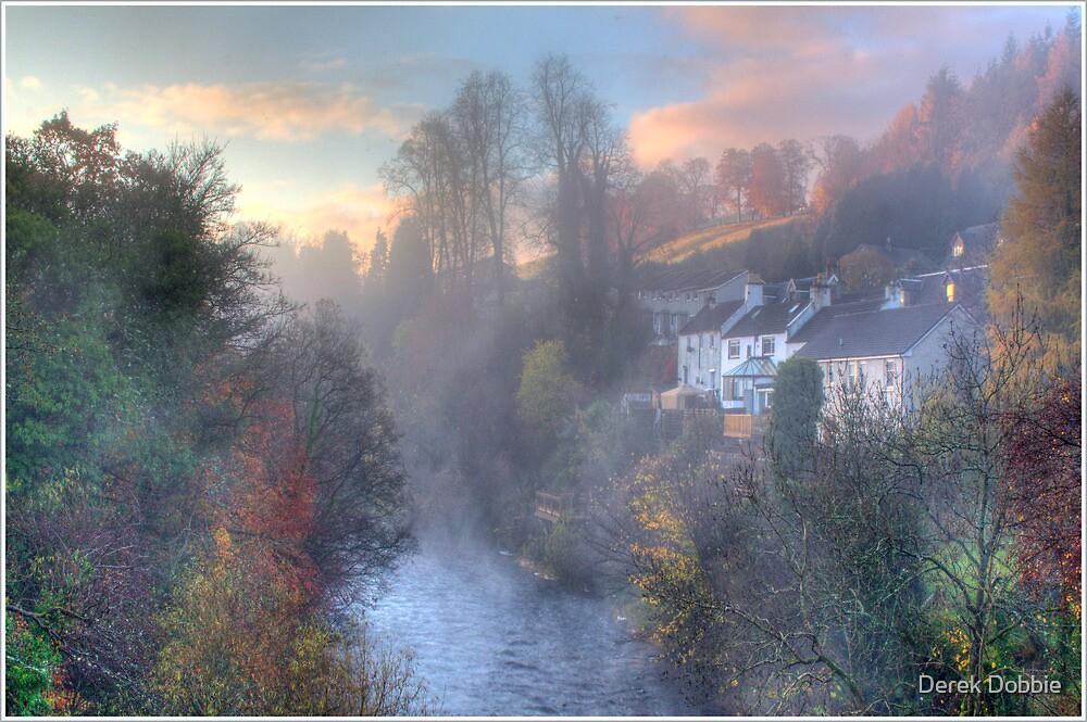 Morning Mist by Derek Dobbie