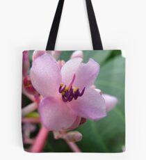 Macro Pink Tote Bag