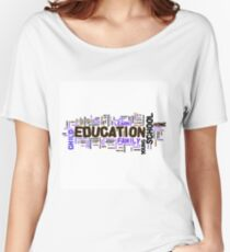 Education Women's Relaxed Fit T-Shirt