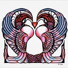lovebirds... by Mel Taylor