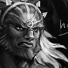 Ganondorf Grump by Figment Forms