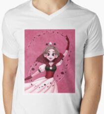 Petal Dance V-Neck T-Shirt
