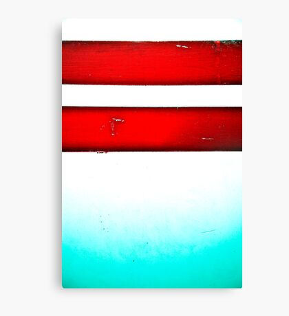 The Red Stripes Canvas Print