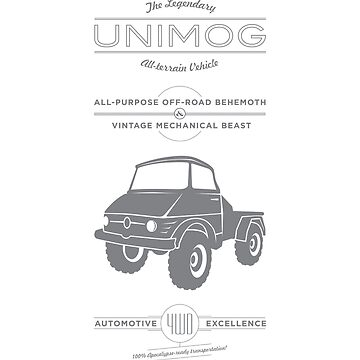 The Mighty Unimog by boomstation