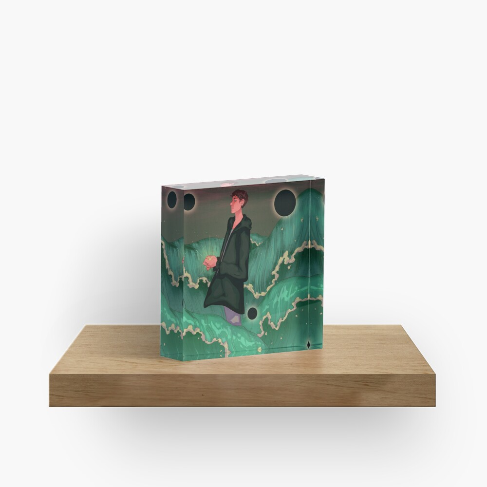 Forever Yours Acrylic Block