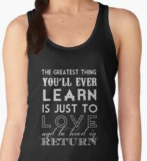 The Greatest Thing Women's Tank Top