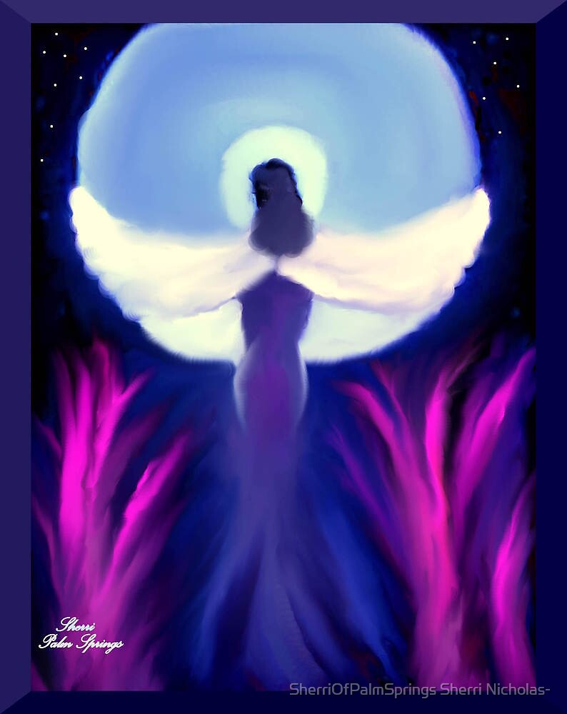 ANGEL WINGS AND HEAVEN!!! ..you light up my life by Sherri Palm Springs  Nicholas