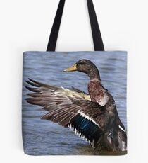 Mallard Spread Tote Bag