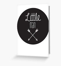Little man art print Greeting Card