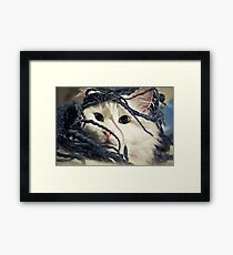 Little Furry Bugger Framed Print