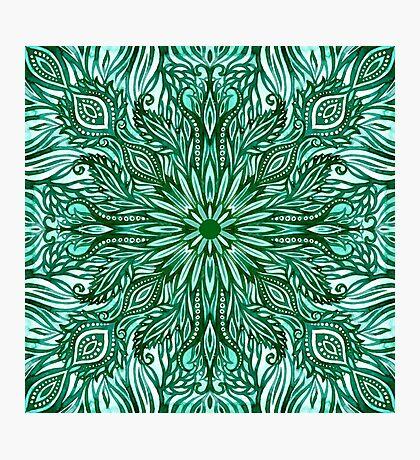 - Emerald pattern - Photographic Print