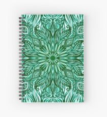- Emerald pattern - Spiral Notebook