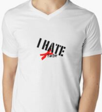 I hate x-factor Men's V-Neck T-Shirt