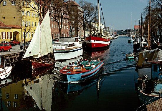 Christianshavn, Copenhagen, Denmark. 1980s by David A. L. Davies