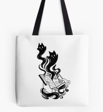 Demon Book Tote Bag