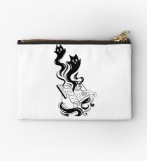 Demon Book Zipper Pouch