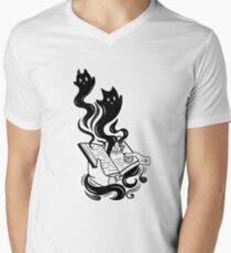 Demon Book V-Neck T-Shirt