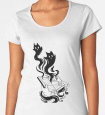 Demon Book Premium Scoop T-Shirt