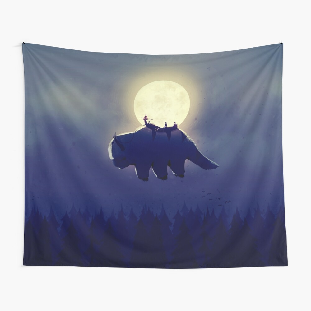 The End of All Things - Night Version Wall Tapestry